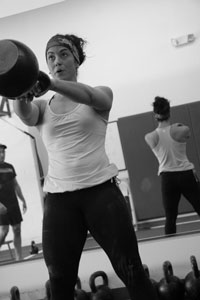 become a personal trainer kettlebell