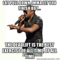 deadlift is the best exercise