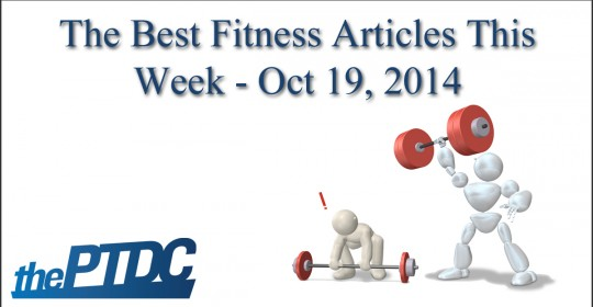 Top Fitness Articles of the Week — October 19, 2014