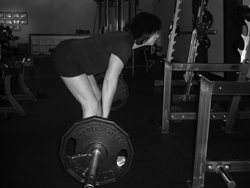 personal trainer deadlift